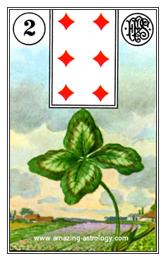 Lenormand Card Meaning 02 Clover Card