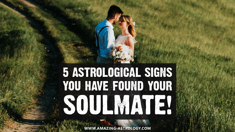Astrological soulmate aspects