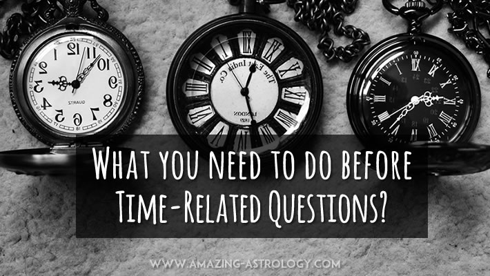 How to ask time-related Question