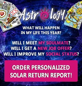 Solar return report -  FREE and with DISCOUNTS