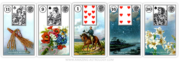 EX come back - Lenormand cards