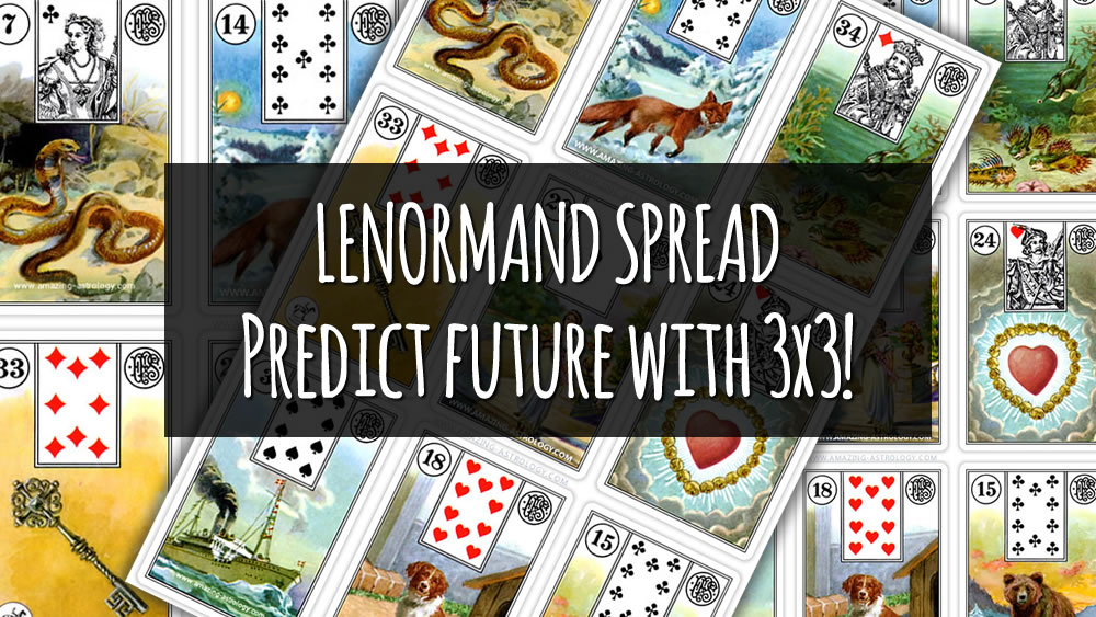 Lenormand Spread - Predict future with 3x3