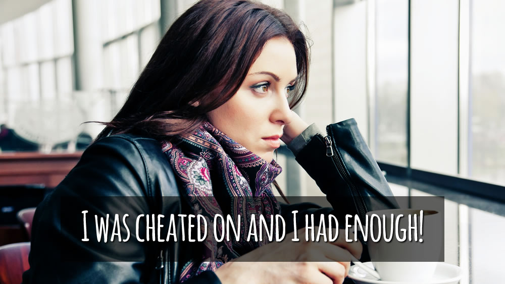 Cheated on - woman tells it all!
