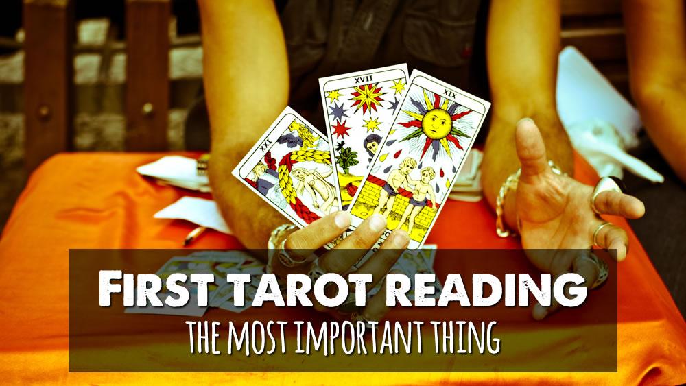First Tarot Reading