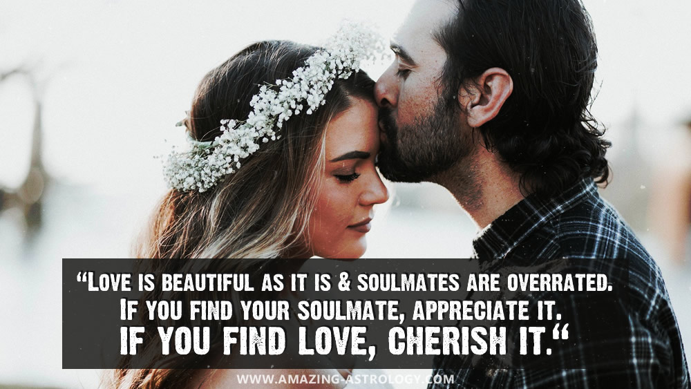 SOULMATES - it is not that common to find one